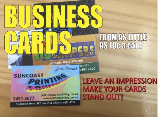 Business Cards - Suncoast Printing