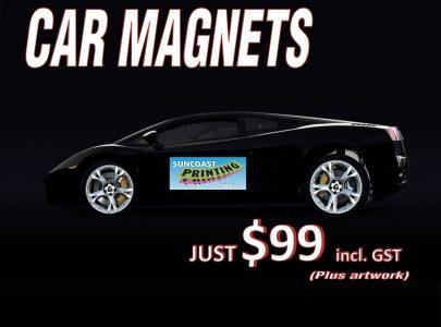 Car Magnets - Sunshine Coast