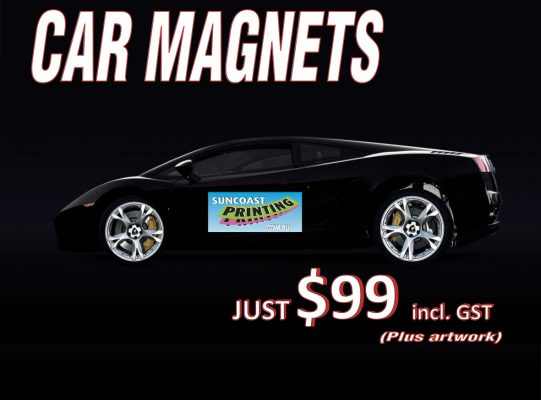 Car Magnets - Suncoast Printing