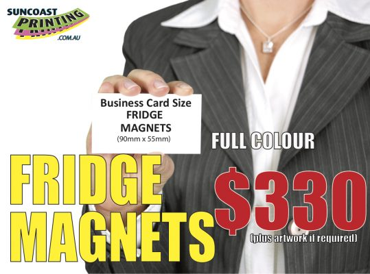Fridge Magnets - Suncoast Printing