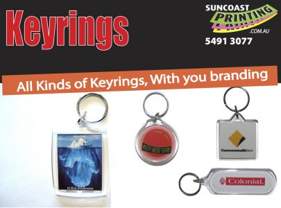 Key rings suncoast printing for all your printing needs keyring sunshine coast caloundra reheart Images