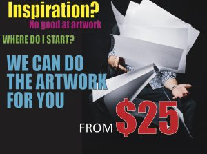 Artwork Services - Sunshine Coast