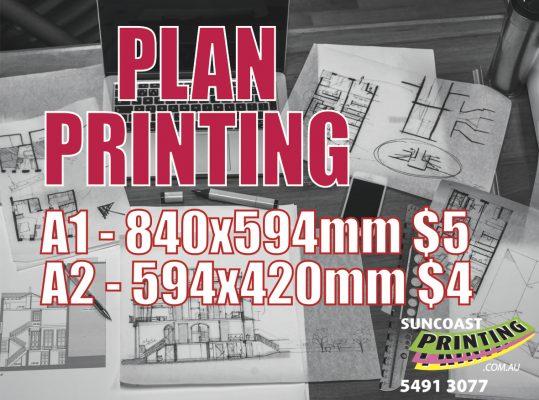 Plan Printing - Suncoast Printing