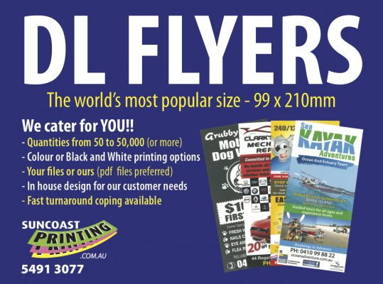 Flyers - Suncoast Printing