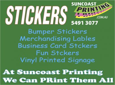 Stickers - Sunshine Coast