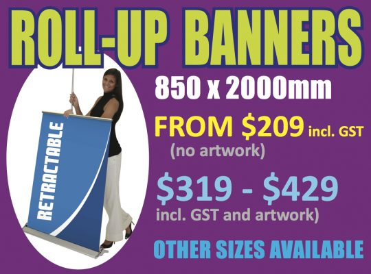 Roll-up Banners - Suncoast Printing