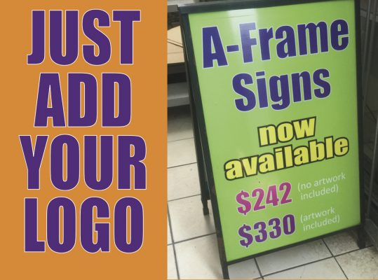 A-Frame Signs - Suncoast Printing